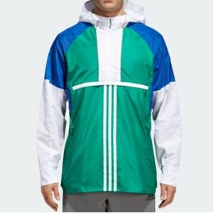 Adidas Anorak Shell Jacket - Large